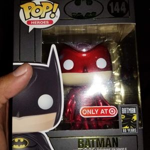 # 144 Batman Funko Pop Red Card Exclusive 80 years
